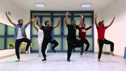 watch me whip bhangra on hindi song superman bollyshake